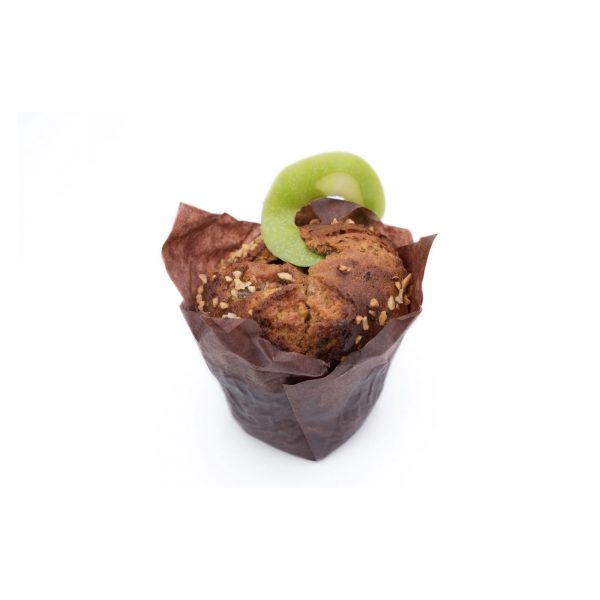 Muffin pomme caramel